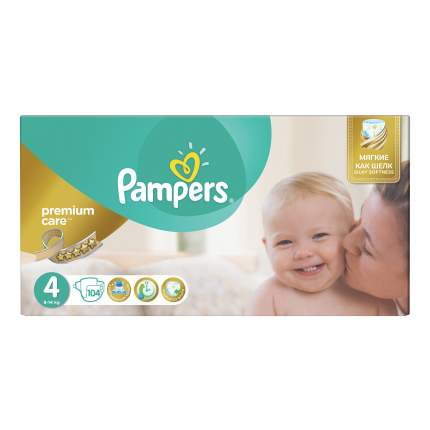 Подгузники Pampers Premium Care 4 (8-14 кг), 104 шт.