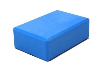 Блок для йоги полумягкий голубой ZDK 23х15х10см 200гр