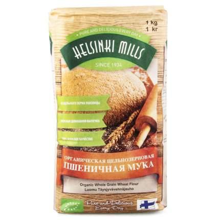 Мука Helsinki Mills пшеничная цельнозерновая органическая 1кг
