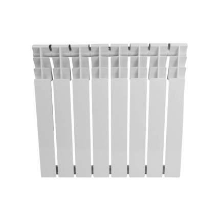 Радиатор алюминиевый AL 500/78 S19 8 секций Qну=984 Вт RAL 9016 (белый) Benarmo 118-3120