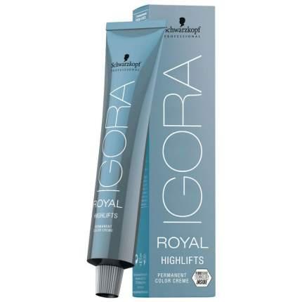 Краска для волос Igora Royal Highlifts 12-19 Специальный блондин сандрэ фиолетовый 60 мл