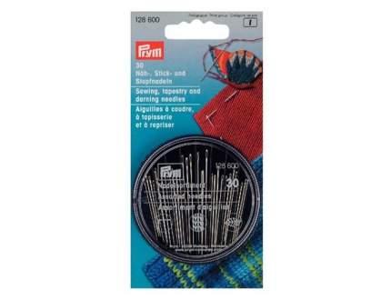 Иглы PRYM набор для шитья, вышивки и штопки 30 шт., 128600
