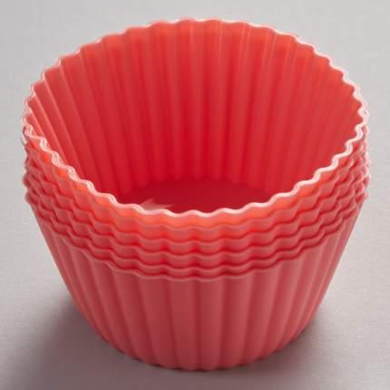"""Набор из 6 силиконовых формочек Alpenkok """"Маффины"""" для кексов"""