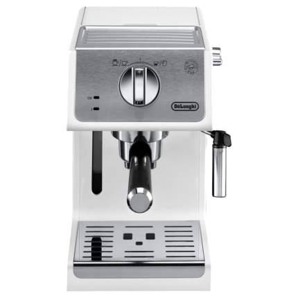 Рожковая кофеварка DeLonghi ECP 33.21.W White