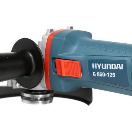 Сетевая угловая шлифовальная машина Hyundai G 850-125