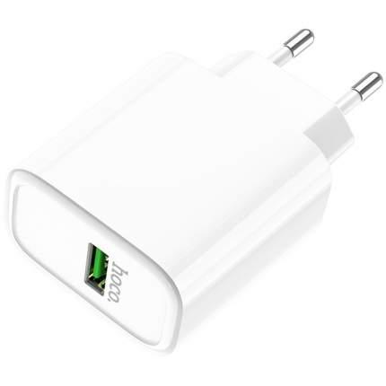 Сетевое зарядное устройство Hoco C69A, 1xUSB, 5 A, white