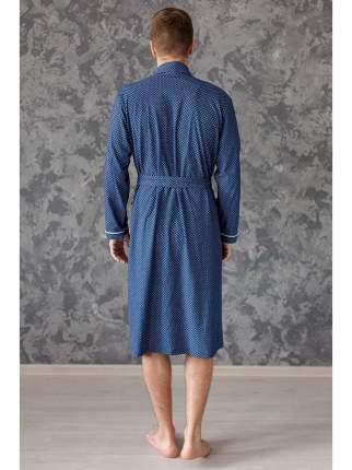 Мужской трикотажный халат Lika Dress 6276, р.56