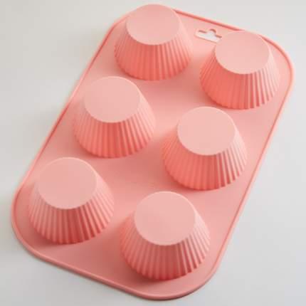 """Форма силиконовая для выпечки 6 кексов Alpenkok """"Кексы"""""""