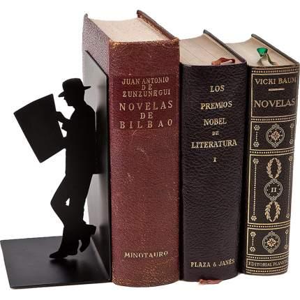 Держатель для книг The Reader черный