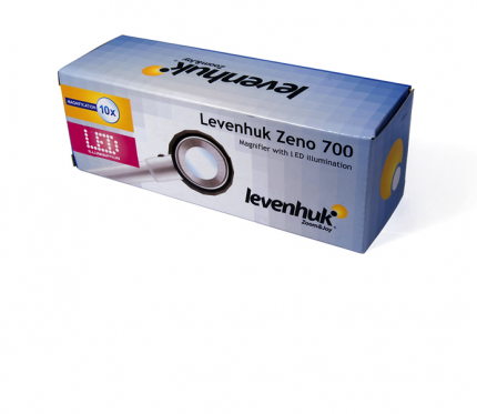 Лупа Levenhuk Zeno 700, 10x, 30 мм, 3 LED, металл 38120