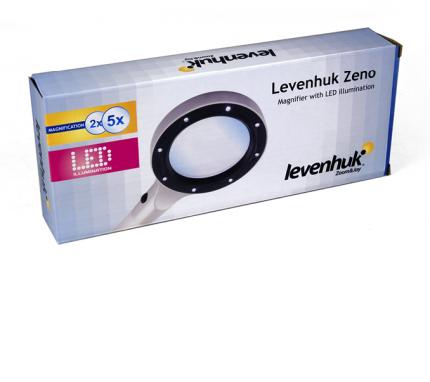 Лупа Levenhuk Zeno 50, 2,2/4,4x, 88/21 мм, 2 LED 38114