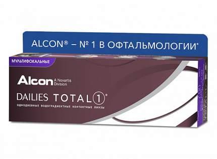 Контактные линзы Dailies Total 1 MULTIFOCAL 30 pack PWR +0,75, R 8.5, Аддидация=M