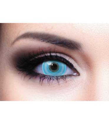 Контактные линзы Adria NEON lenses 2 pack PWR -3,00, R 8.6, Blue