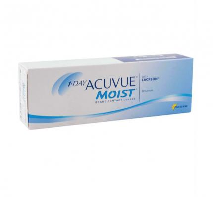 Контактные линзы Acuvue One Day MOIST MULTIFOCAL 30 pack PWR -4,25, R 8.4, Аддидация=L