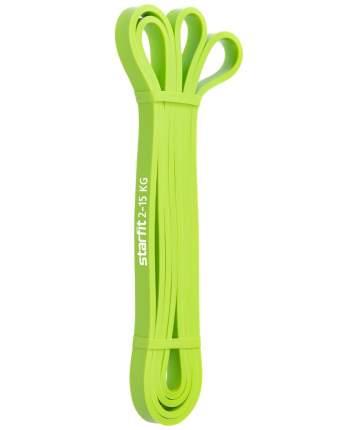 Starfit Эспандер многофункциональный ES-802 ленточный, 2-15 кг, 208х1,3 см, зеленый