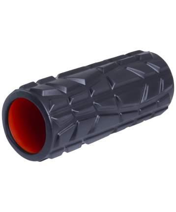 Starfit Ролик массажный FA-509, 33x13,5 cм, высокая жесткость, черный/оранжевый