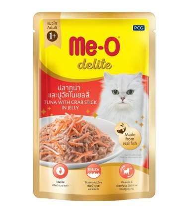 Влажный корм для кошек Me-O Дэлит, тунец, 12шт, 70г