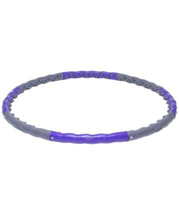 Массажный обруч StarFit HH-107 110 см серый/фиолетовый