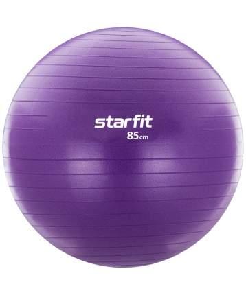 Starfit Фитбол GB-106, 85 см, 1500 гр, с ручным насосом, фиолетовый, антивзрыв