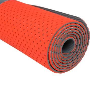 Starfit Коврик для фитнеса FM-202, TPE перфорированный, 173 x 61 x 0,5 см, ярко-красный