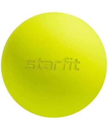 Starfit Мяч для МФР RB-101, 6 см, ярко-зеленый