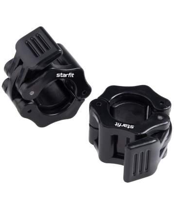 Starfit Комплект замков для грифа BB-109, d=26 мм, с фиксатором, пластиковые