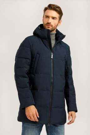 Зимняя куртка мужская Finn Flare W19-22026 темно-синяя XXL