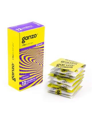 Презервативы Ganzo Sense 12 шт.