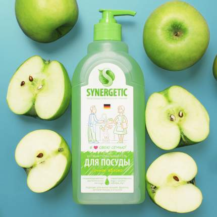 Средство для мытья посуды Synergetic яблоко 5000 мл