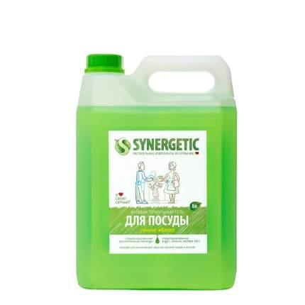 Средство для посуды, овощей и фруктов SYNERGETIC «Сочное яблоко» антибактериальное, 5л