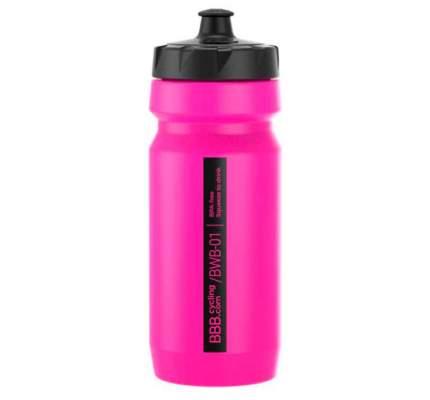 Велосипедная фляга BBB Comptank 550 мл розовая