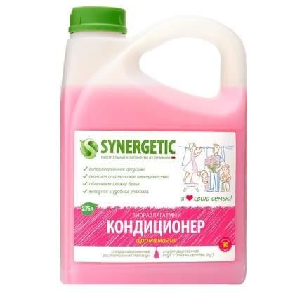 """Кондиционер для белья SYNERGETIC """"Аромамагия"""" гипоаллергенный, 2,75л, 90 стирок"""
