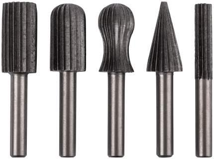 Шарошки по металлу, HSS сталь, 5 шт. FIT 36476