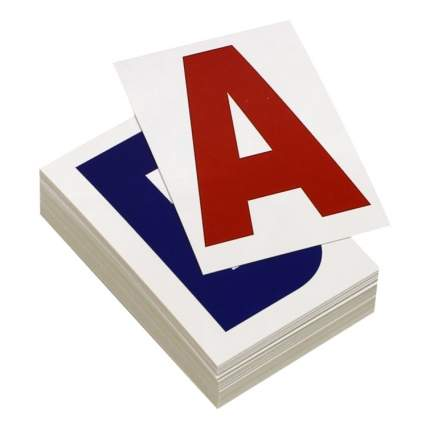 Развивающая игрушка Вундеркинд с пеленок Буквы 48 шт.