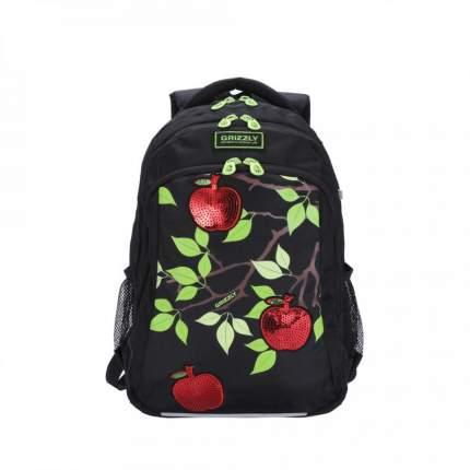 Рюкзак детский Grizzly RG-062-1 школьный черный
