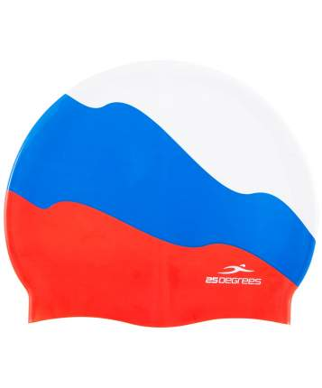 25Degrees Шапочка для плавания Russia, силикон