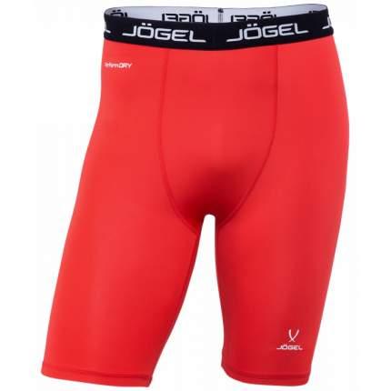 Шорты компрессионные Jogel Camp Tight Short Performdry, красные/белые, XXL