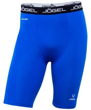Шорты компрессионные Jogel Camp Tight Short Performdry, синие/белые, XXL