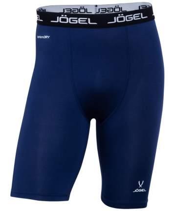 Шорты компрессионные Jogel Camp Tight Short Performdry, темно-синие/белые, XXL