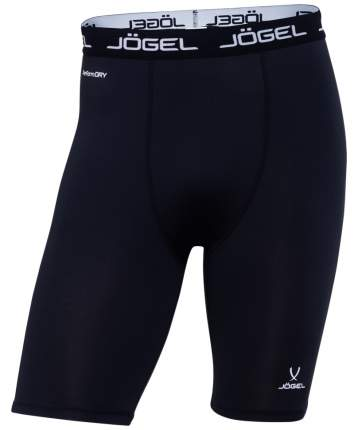Jögel Шорты компрессионные Camp Tight Short PERFORMDRY JBL-1300-061, черный/белый - XL