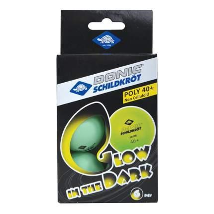 Donic Мяч для настольного тенниса Glow in the dark, 6 шт.