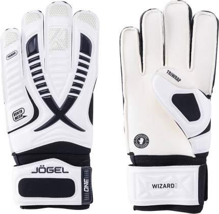 Вратарские перчатки Jogel One Wizard CL3 Flat, white/black, 8