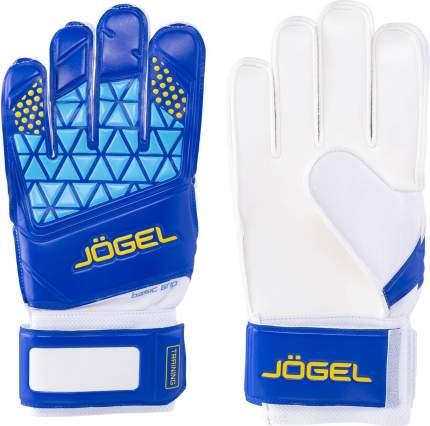 Вратарские перчатки Jogel Nigma Training Flat, white/blue, 9