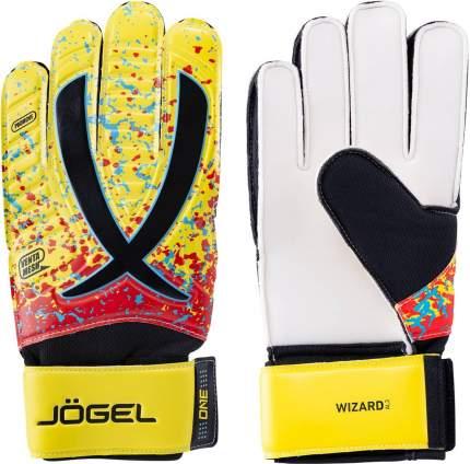 Вратарские перчатки Jogel One Wizard AL3 Flat, yellow/black, 9