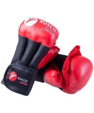 Rusco Перчатки для рукопашного боя PRO, к/з, красный - 8