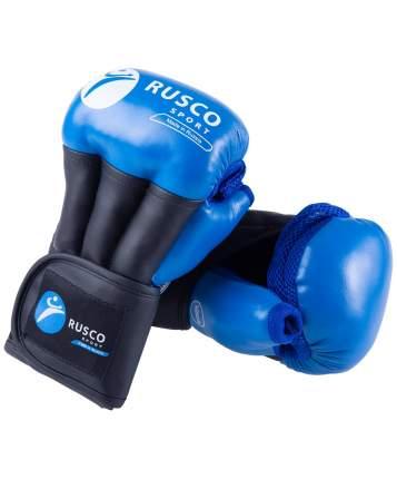 Rusco Перчатки для рукопашного боя PRO, к/з, синий - 10