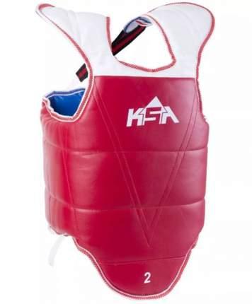 Защита корпуса KSA Protec, красная/синяя, M