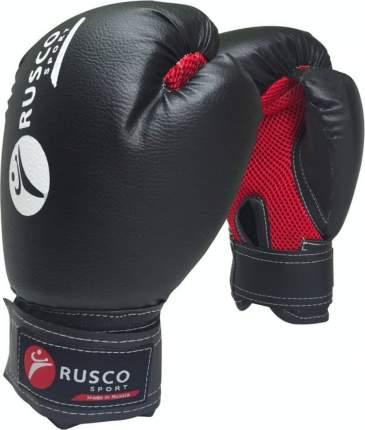 Боксерские перчатки Rusco Sport красные/черные 10 унций