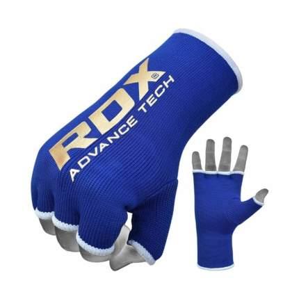 RDX Внутренние перчатки для бокса HYP-ISU BLUE - S