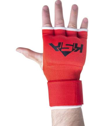KSA Внутренние перчатки для бокса Cobra Red, S